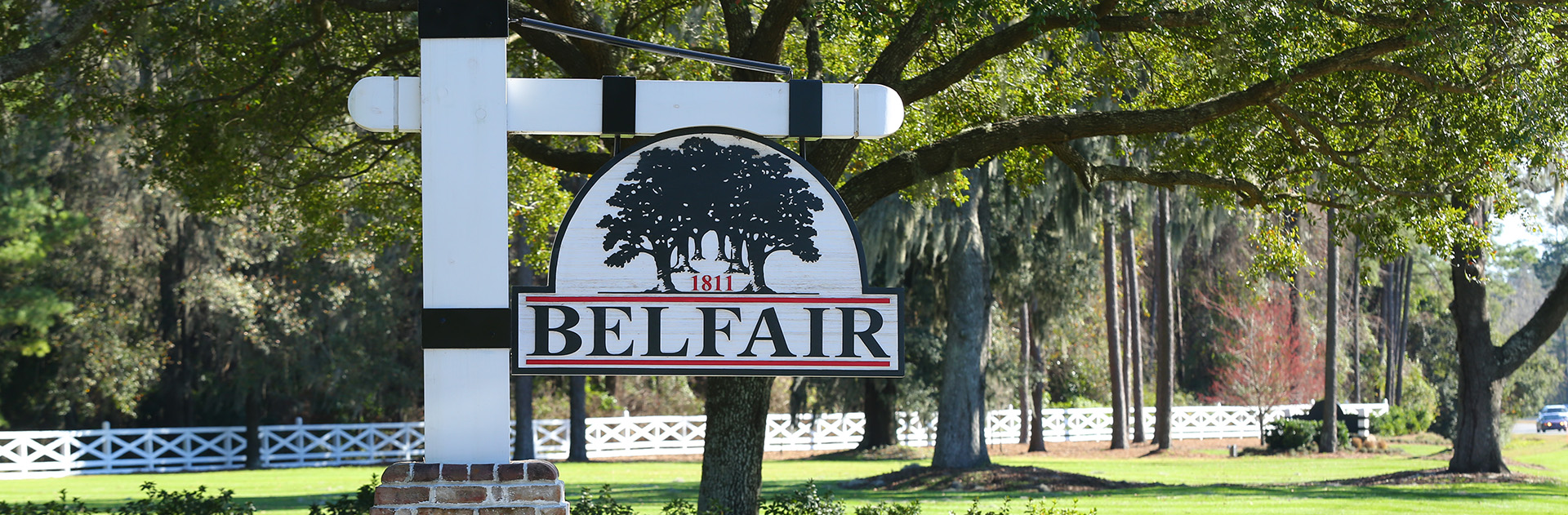 Belfair plantation front sign