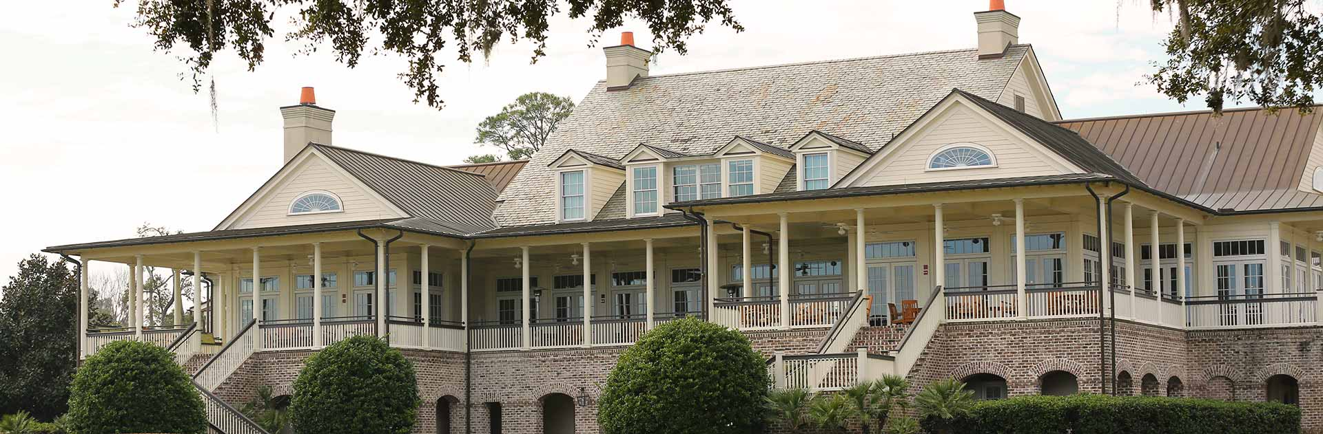 Colleton River Plantation Pete Dye Club House