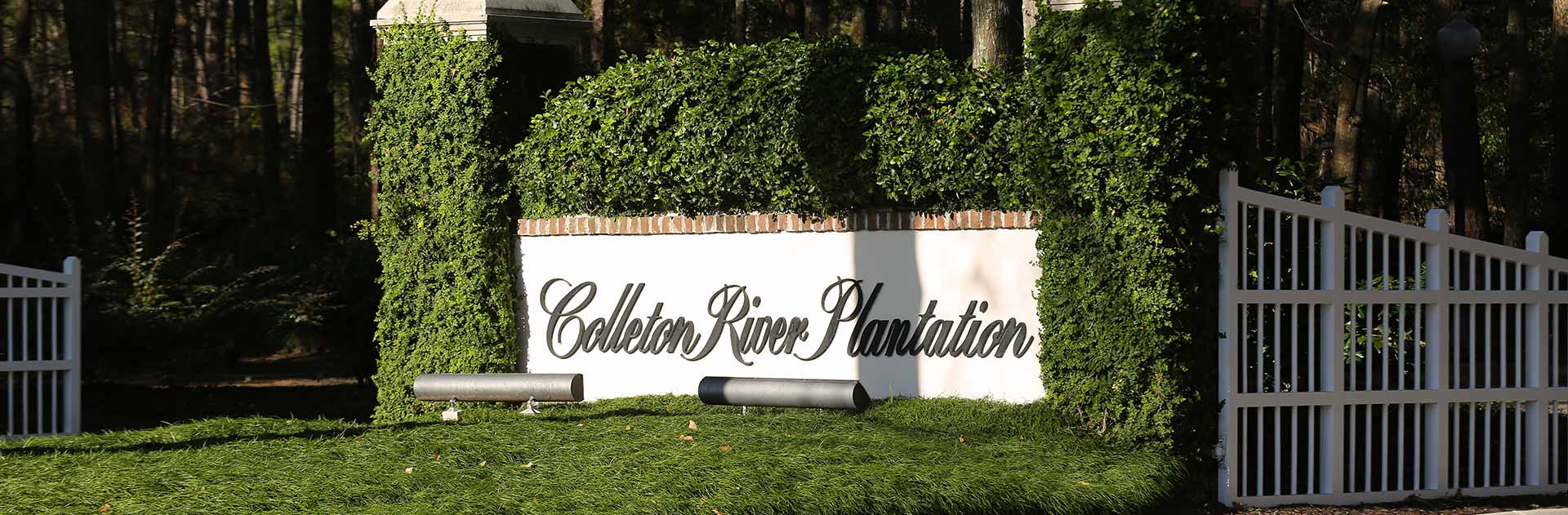 Colleton River Plantation Community Sign