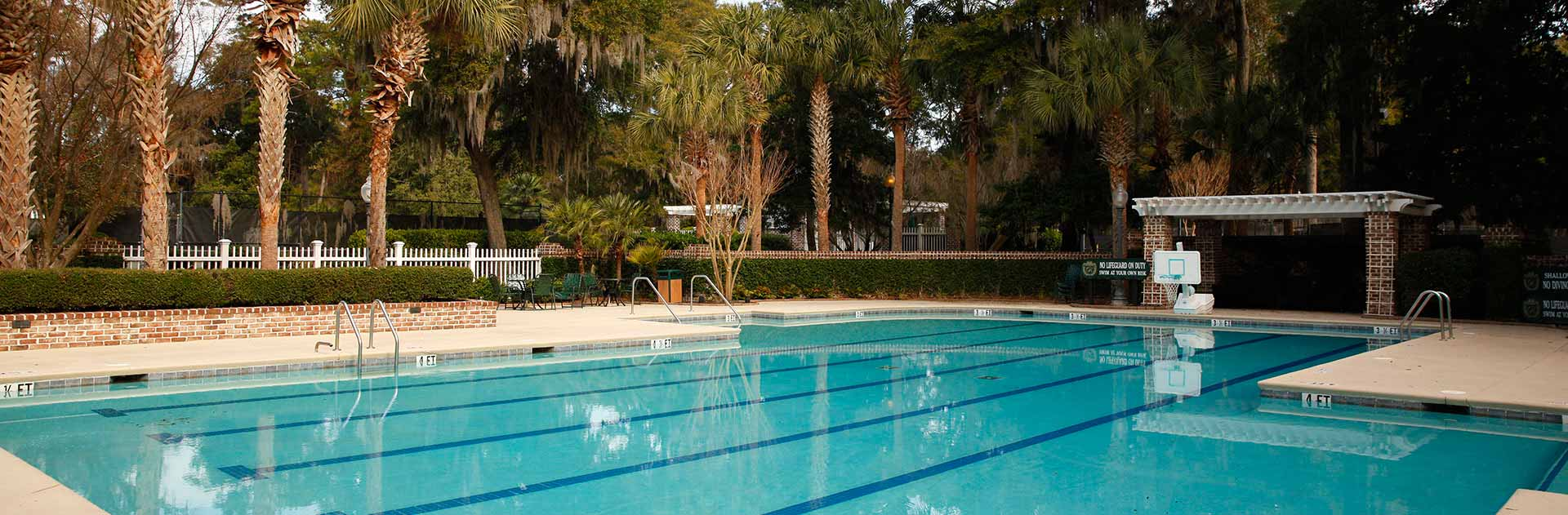 Colleton River Plantation Pool Areas