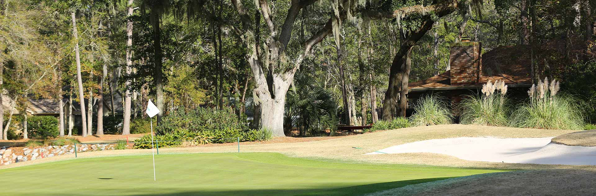 Hilton Head Plantation golf course view
