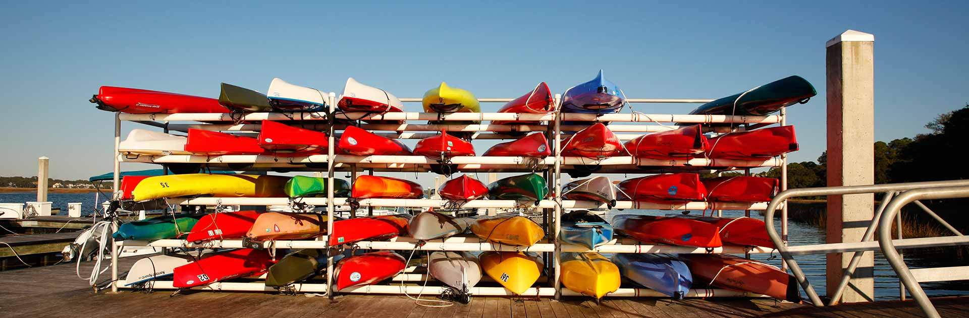 Long Cove Club Canoes